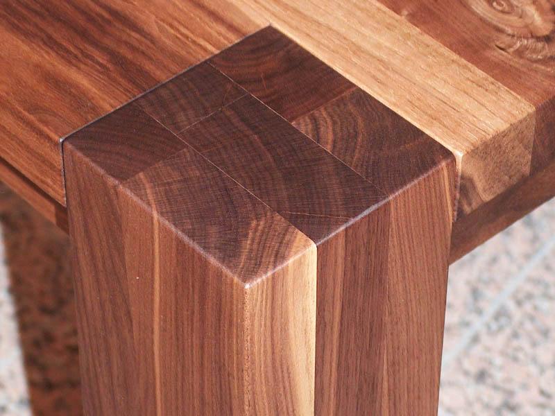 m bel wohn esszimmer tisch nussbaum schreinerei h fle ihr schreiner mit ideen. Black Bedroom Furniture Sets. Home Design Ideas